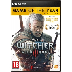 THE WITCHER 3 WILD HUNT GAME OF THE YEAR EDITION per PC nuovo